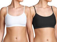 Sloggi Sensual Fresh Bra Top Womens Underwear, Black or White. UK 30-38