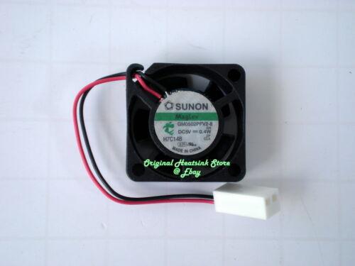 25 mm Fan x 10 mm 5V DC Sunon Magnetic Levitation 0.8A 3CFM 2 Wire low Noise New