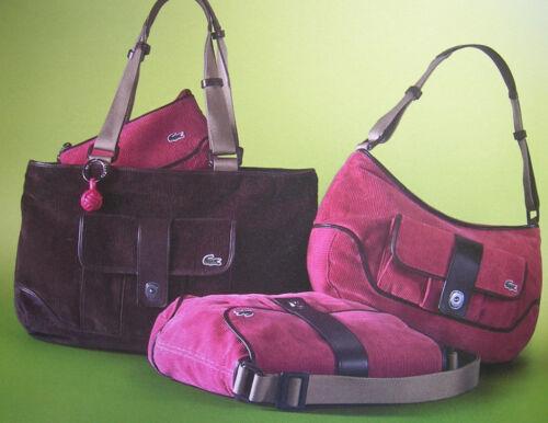 LACOSTE SHOULDER BAG Baguette Fashion 6 Strawberry Pink