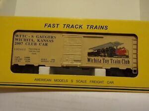 American-Models-S-Gauge-WTTC-S-GAUGERS-WHITCHITA-TRAIN-CLUB-BOXCAR