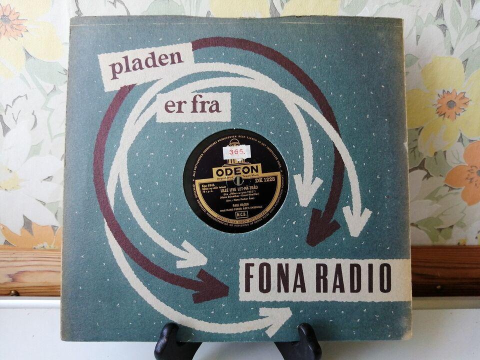 """78, Paul Hagen.""""Fiffer-Revyen 1953"""", Lille Lise let på"""