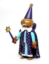 Playmobil Figure Medieval Wizard Magician Sorcerer Hat Cape Special RARE 4594