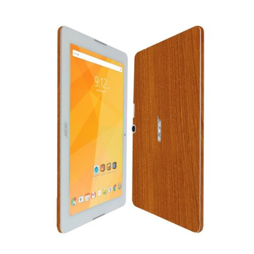 Skinomi Light Wood Skin+Clear Screen Protector For Acer Iconia One 10 B3-A20