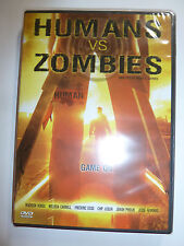 Humans vs. Zombies DVD horror comedy movie based on college LARP game undead NEW