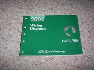 2004 ford f750 electrical wiring diagram manual 6 7l 6 8l 7 2l v8 1994 Ford Thunderbird Wiring Diagram image is loading 2004 ford f750 electrical wiring diagram manual 6