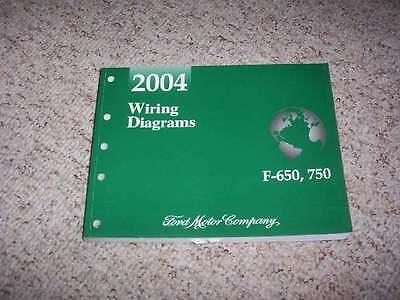 2004 Ford F750 Electrical Wiring Diagram Manual Super Duty ...