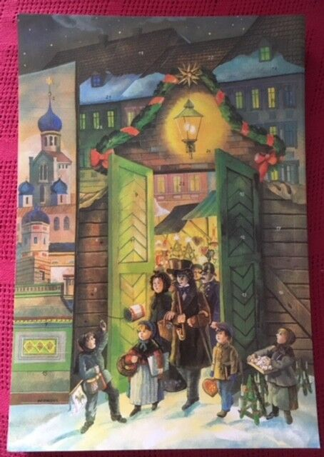 Original DDR Adventskalender Weihnachtskalender Planet-Verlag Altberliner Altberliner Altberliner Weihn. | Qualitativ Hochwertiges Produkt  1ac9c2