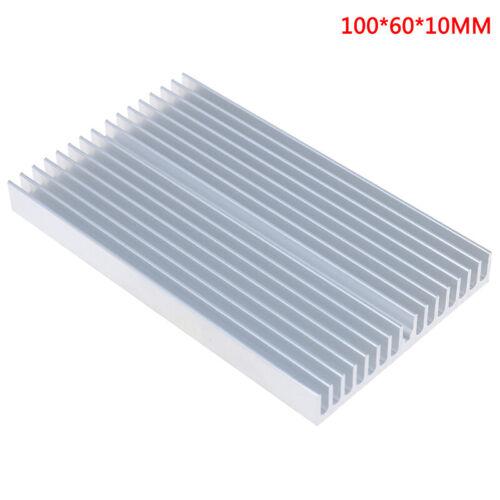 100*60*10mm Aluminum Heatsink Cooler Chip Radiator for IC LED Power TransistN NN