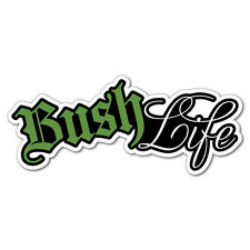 Bush Life 4x4 Mud 4WD Sticker Decal Outback 4x4 Ute Country Aussie #7530EN