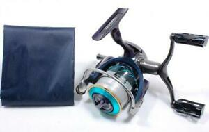 Daiwa-reel-14-Emeraldas-MX-2508PE-H-DH-Custom-Aluminum-Handle-Knob-Used