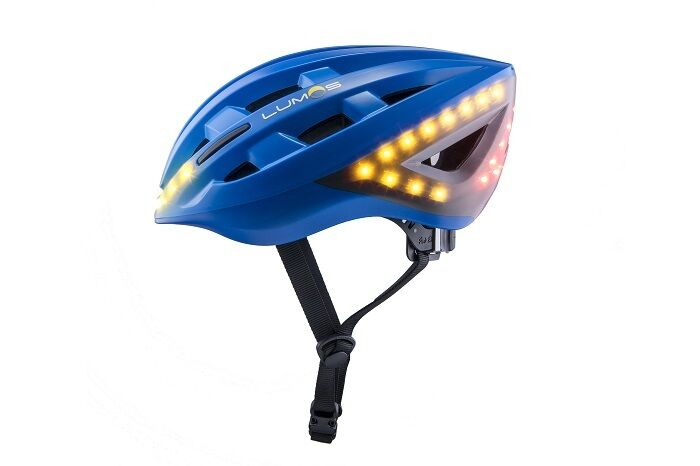 Lumos Fahrradhelm - Farbe  blue - Größe  54 - 61 cm