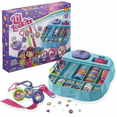Alex Toys Lil Lockitz Best Friend Party Pack Ages 5 New Toy Girls Gift Play Fun