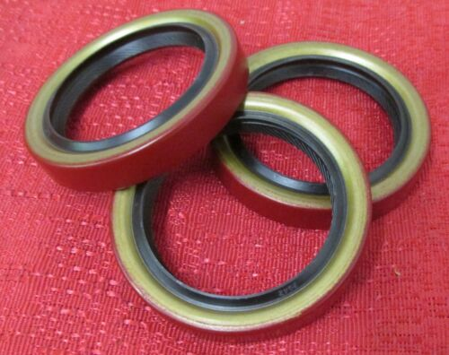 NATIONAL 2942 FRONT TIMING COVER CRANKSHAFT SEAL 3 PCS FORD ENGINES