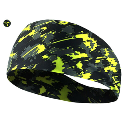 Cycling Sweat Headband Men Head Sweat Bands Sport Sweatband Hair Bands Yoga#