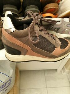 Ladies GEOX RESPIRA Wedge Trainers SIZE