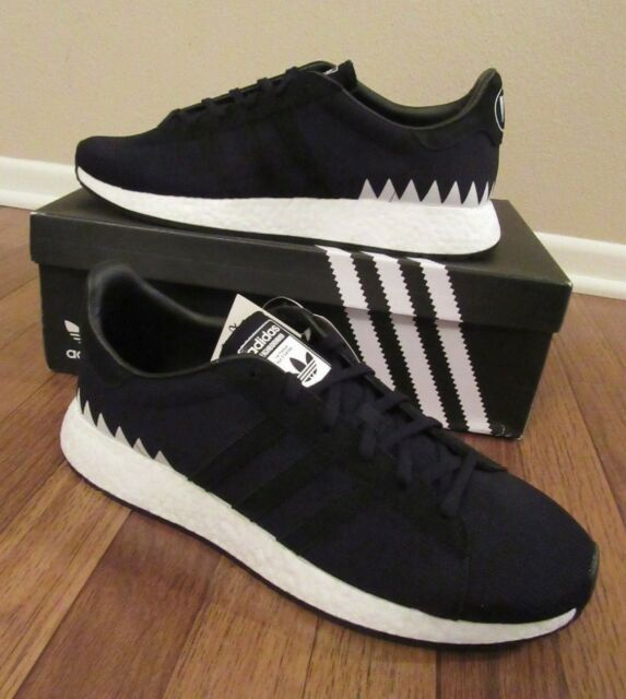buy online 9632d bddb9 ADIDAS Chop Shop NBHD Neighborhood Size 12 Core Black DA8839 New In Box NIB  DS