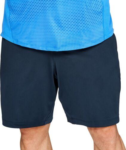 Blue Under Armour MK1 Mens Training Shorts