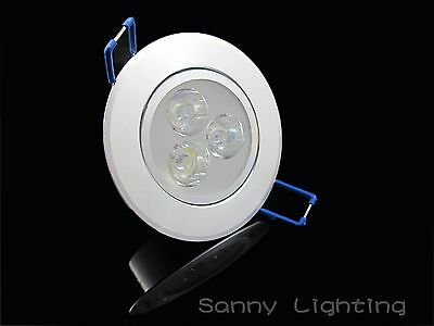 Sale!! 3W Cool / Warm White Power LED Recessed Ceiling Down Bulb Spot Light Lamp
