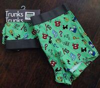 Monopoly Board Game Underwear Men's Boxers Briefs Size Xl 40-42 One Pair