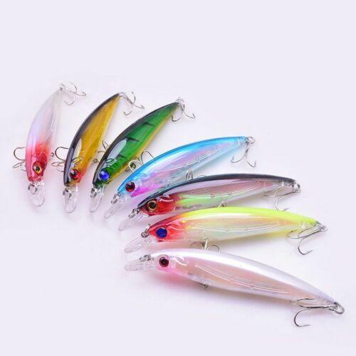 Minnow Fishing Lure 11cm 13.5g Popular Floating Hard Wobbler Crankbait 3D Eyes