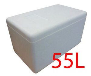 55l Xxl Polystyrene Styrofoam Padded Foam Cooler Ice