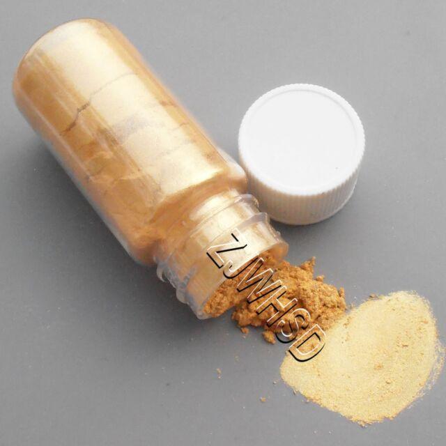 15ml Gold Ultrafine Glitter Pearl Pigment Powder Metal Sparkle Shimmer Paint