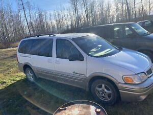 2001 Pontiac Montana loaded