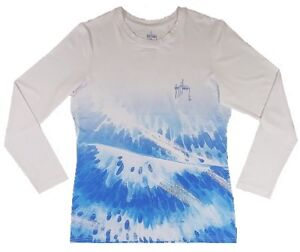 Guy Harvey Womens Reef Geo Performance Shirt