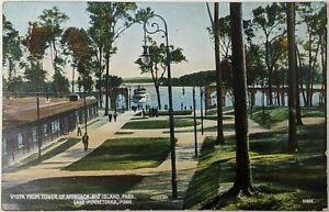 VISTA-FROM-TOWER-OF-APPROACH-BIG-ISLAND-PARK-LAKE-MINNETONKA-MN-Postcard