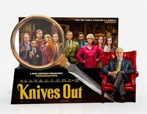 "Daniel Craig Chris Evans Crime Drama Movie 24/""x35/"" Poster 003 Knives Out"
