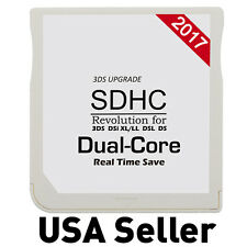 Micro SD SDHC 2017 Dual Core Memory Adapter Card for 3DS DS Lite DSi XL 2DS NDS