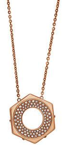 Swarovski-Plaque-or-Rose-Reversible-Boulon-Pendentif-Collier-Pour-Femme-5073124
