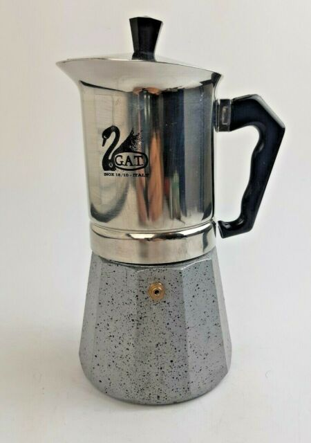 Gat Stainless Steel Moka Pot Inox 18 10