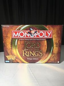 2003-MONOPOLY-LORD-OF-THE-RINGS-TRILOGY-EDITION-BOARD-GAME-NEW-GREAT-PRICE