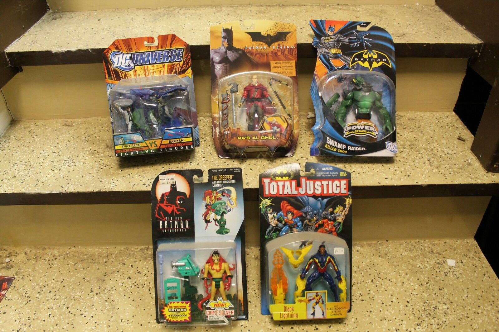 Batman set of 5 misc Figures