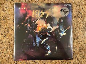 Kiss Alive 45th Anniversary Multi Colored Vinyl Limited Edition NEW