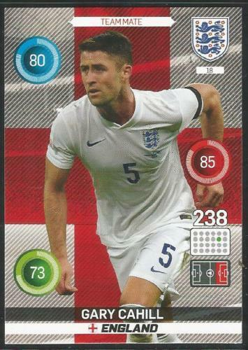 Adrenalyn XL Panini Angleterre 2016 Simple Football cartes Nº 01 To 50-Divers