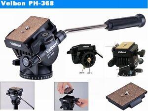 Velbon-PH-368-Fluid-Video-Pan-Tilt-Head-with-Registered-Mail-Shipping