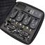 thumbnail 1 - 4-x-Wireless-Bite-Alarms-amp-Receiver-4-illuminated-Hanger-set-Carp-Alarm-LED