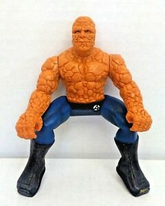 Marvel-Fantastic-Four-The-Thing-Motorcycle-Bump-N-Go-Action-Figure-ONLY