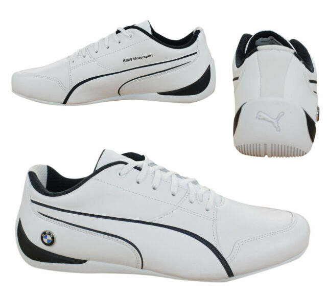 Puma BMW Motorsport Drift Cat 7 Lace Up Mens Trainers White 305986 02 A 527d27db4