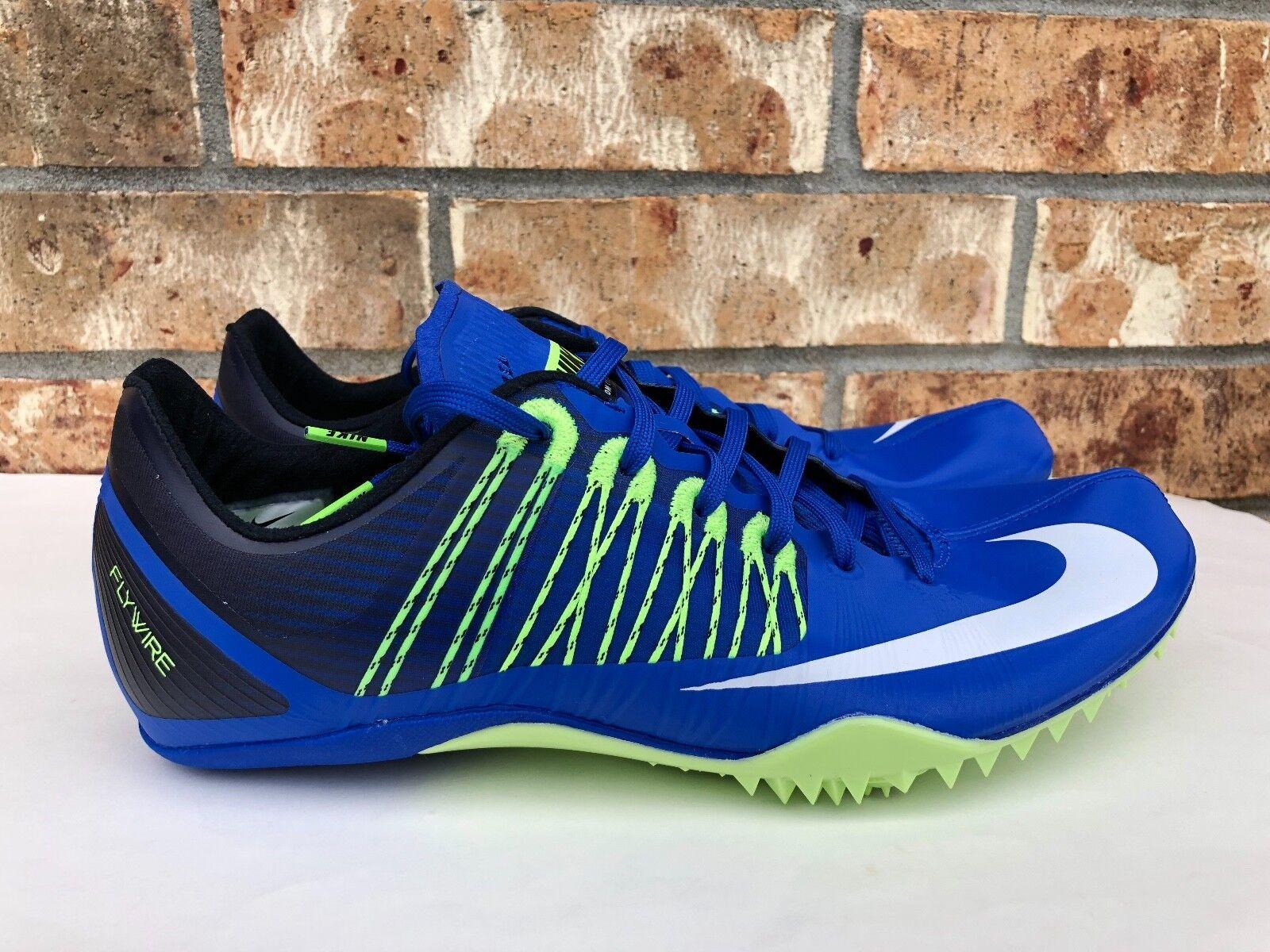 Men's Nike Zoom Celar 5 Track Sprint Spikes bluee Green Black White 629226-413