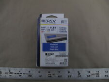1 New Brady Label Cartridge M21 750 595 Bl Whiteblue Vinyl 34 X 21 Bmp21