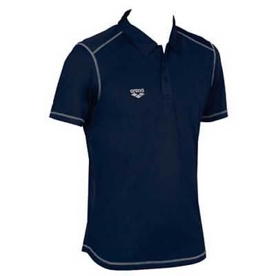 Arena Teamline Herren Polo Shirt mit Brusttasche Farbe Weiß UVP 35,00 Größe M
