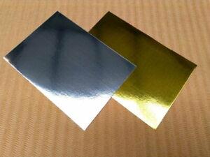Spiegel-karton Paper-pack Glanz-Papier silber 10 Stück 230 g/m² A4