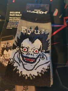 Details About Exclusive Death Note Ryuk Socks Loot Anime 2017 Survive
