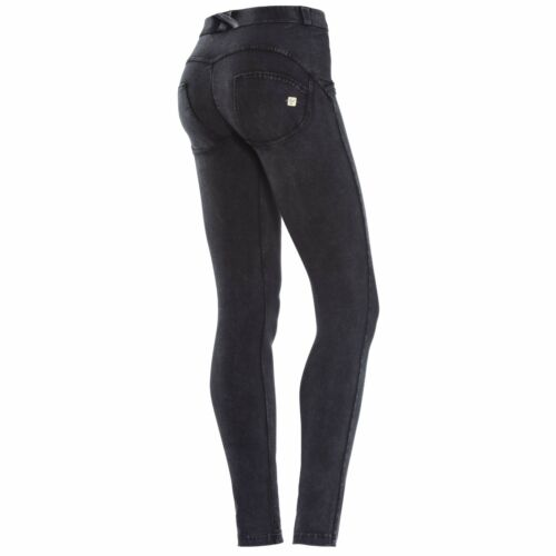 Freddy WR.UP SHAPING EFFECT REGULAR WAIST SKINNY BLACK MARBLED PIGMENT