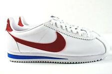 Fácil Panda Realista  Womens Nike Classic Cortez Leather Size 10 Forrest Gump White Red 807471  103 for sale online   eBay