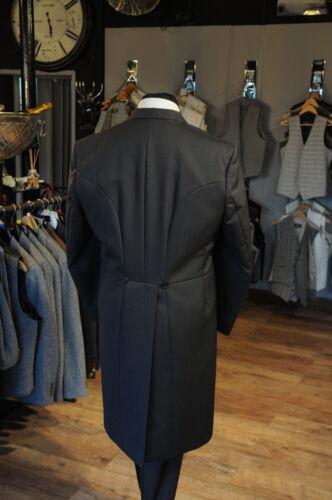 MJ-204A Men/'s Grey Herringbone deux pièces formel habit costume pour mariage Tails