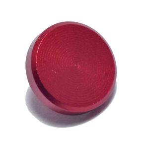 High Quality Shutter Button Soft Release Metal RED Flat  for Fuji XT2 X20 X100